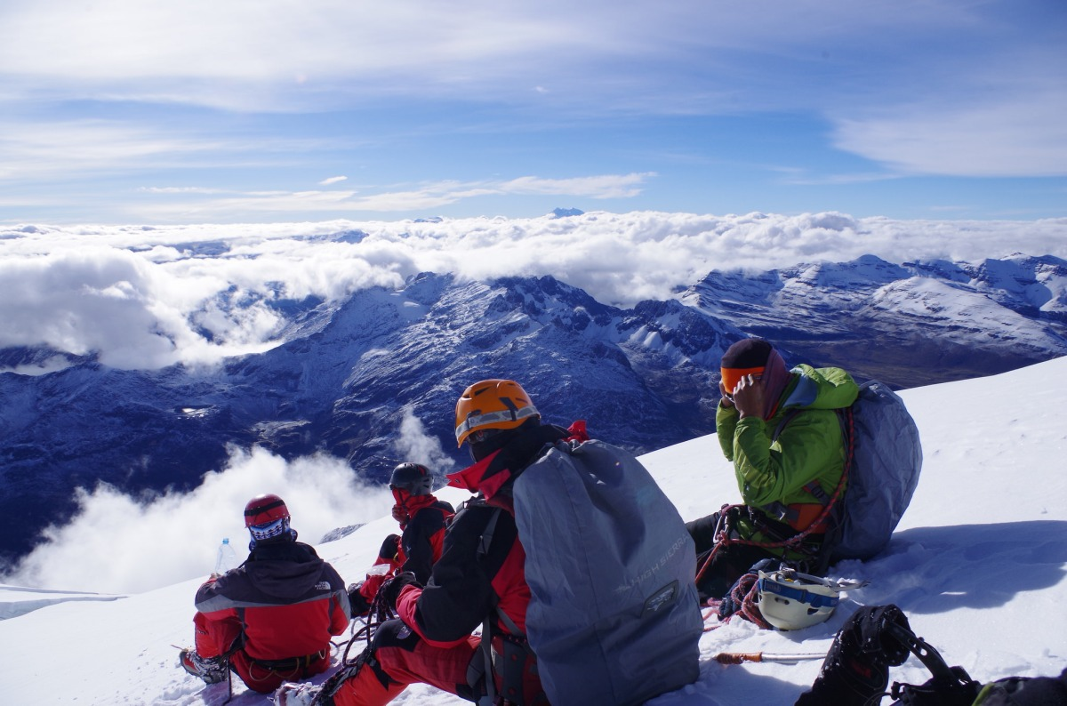 【登山記録】2014年12月:ワイナポトシ登山/ボリビア・世界一登頂者の多い6,000m峰・ワイナポトシに挑戦